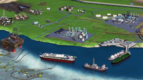 3D-Rendering-Offshore-Oil-GAS-3D-Rendering