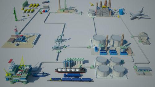 3D-Rendering-Oil-Gas-Layout-3D-Rendering